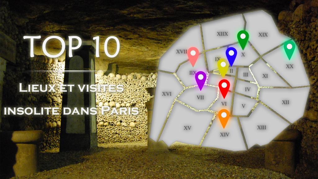 Top 10 des visites insolites de Paris
