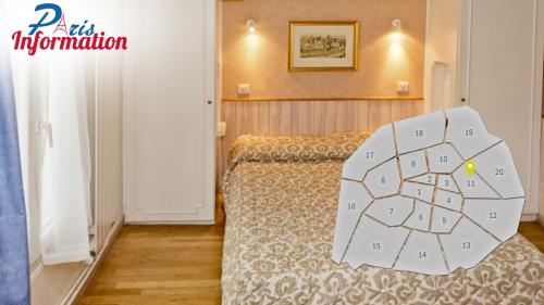 H tels pas chers de paris paris information for Hotel pas cher paris 14