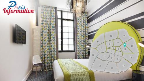 Chambre Hôtel Fabric