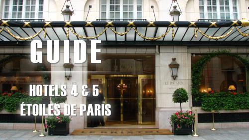 Image Guide Hotels 4 et 5 étoiles de Paris