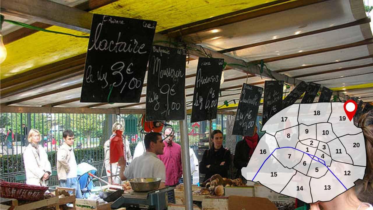 marché place des fêtes